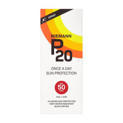 Riemann P20 Once a Day Sun Protection SPF 50 Spray 200ml