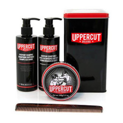 Uppercut Deluxe Pomade Combo Kit Tin