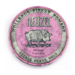 Reuzel Pink Pomade - Grease Heavy Hold 340g