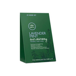 Paul Mitchell Tea Tree Lavender Mint Deep Conditioning Mineral Hair Mask - 6 x 20ml Sachets