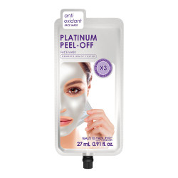 Skin Republic Platinum + Diamond Powder Peel-Off Face Mask 27ml