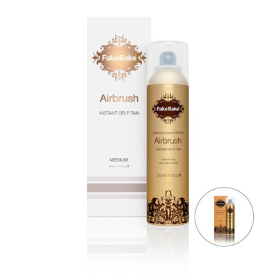 Fake Bake Airbrush Instant Self Tan 210ml