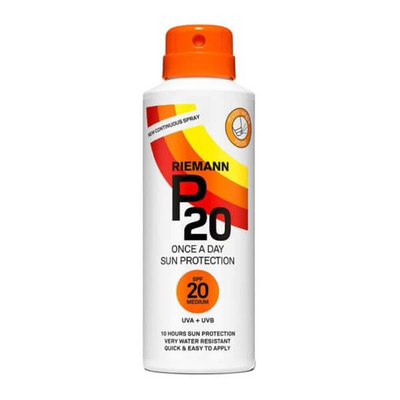 Riemann P20 Once a Day Sun Protection SPF 20 Continuous Spray 150ml
