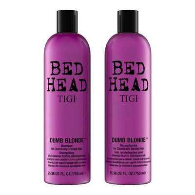 TIGI Bed Head Dumb Blonde Tween Duo 2x 750ml front