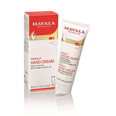 Mavala Hand Cream Tube 50ml with Collagen