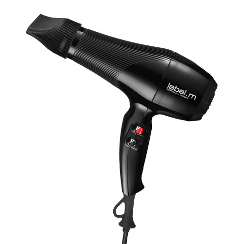 label.m Tourmaline Hairdryer Black