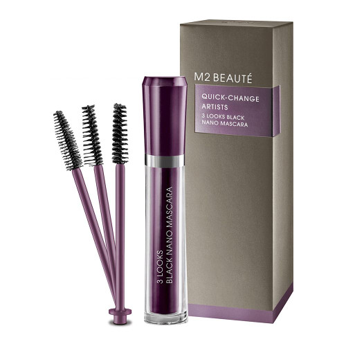 M2 BEAUTÉ 3 Looks Black Nano Mascara 6ml