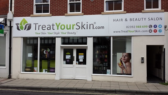 Treat Your Skin salon in Havant