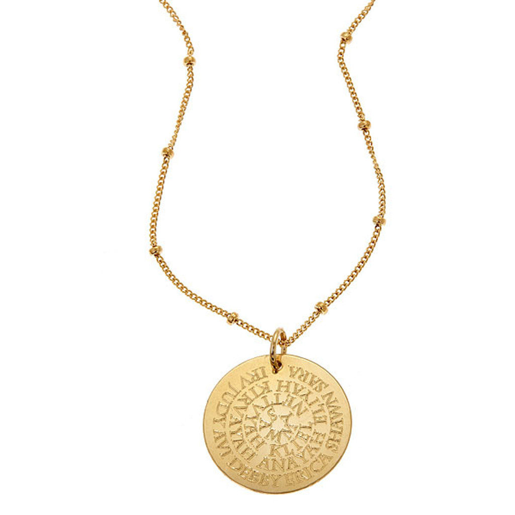 English Generation Necklace. Gold fill. Fine Cable chain.