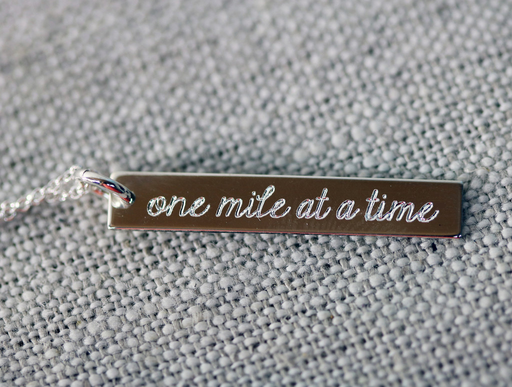 One Mile at a Time Necklace