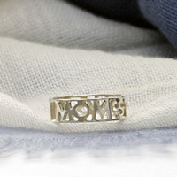 Sterling Silver Handcrafted Mom Strong Ring