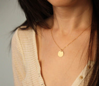 13.1 Disc Charm/Necklace