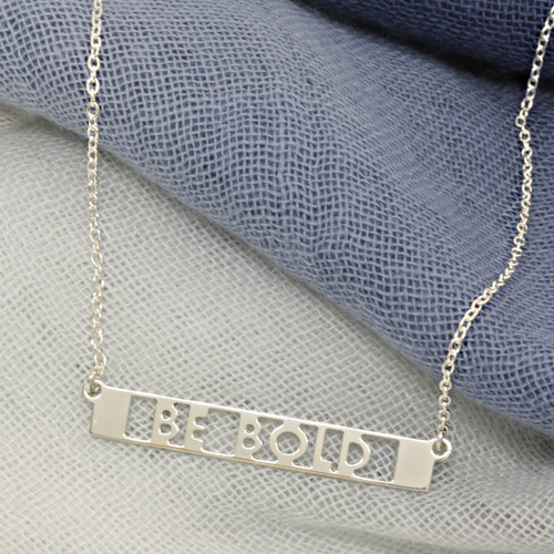 Pillars Custom Mantra ID Necklace