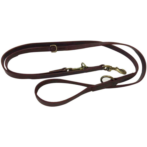 Training Leather Leads 3/4 inch
