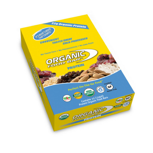 Protein - Organic Food Bar - Box of 12