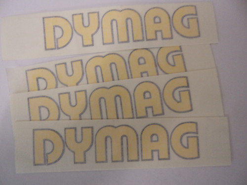 Retro Dymag Fairing Sticker