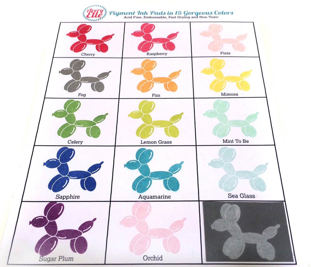 Aquamarine Pigment Ink Pad