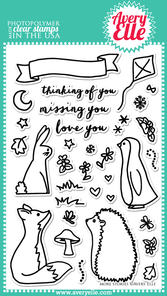 More Stories Clear Stamps