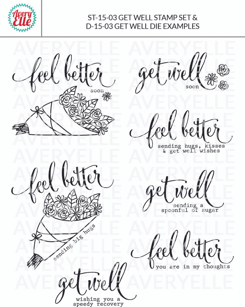 Get Well by Avery Elle Inc. examples