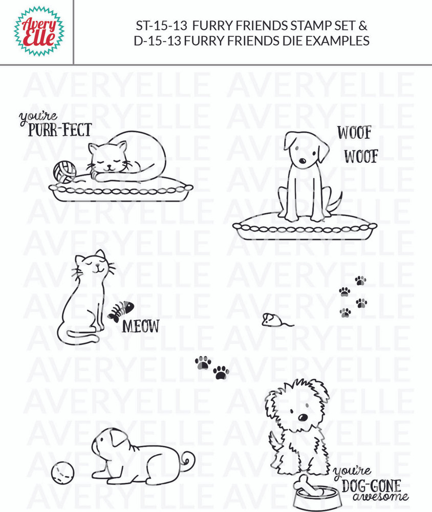 Furry Friends by Avery Elle Inc. examples