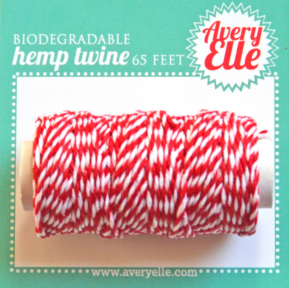 Cherry Hemp Twine