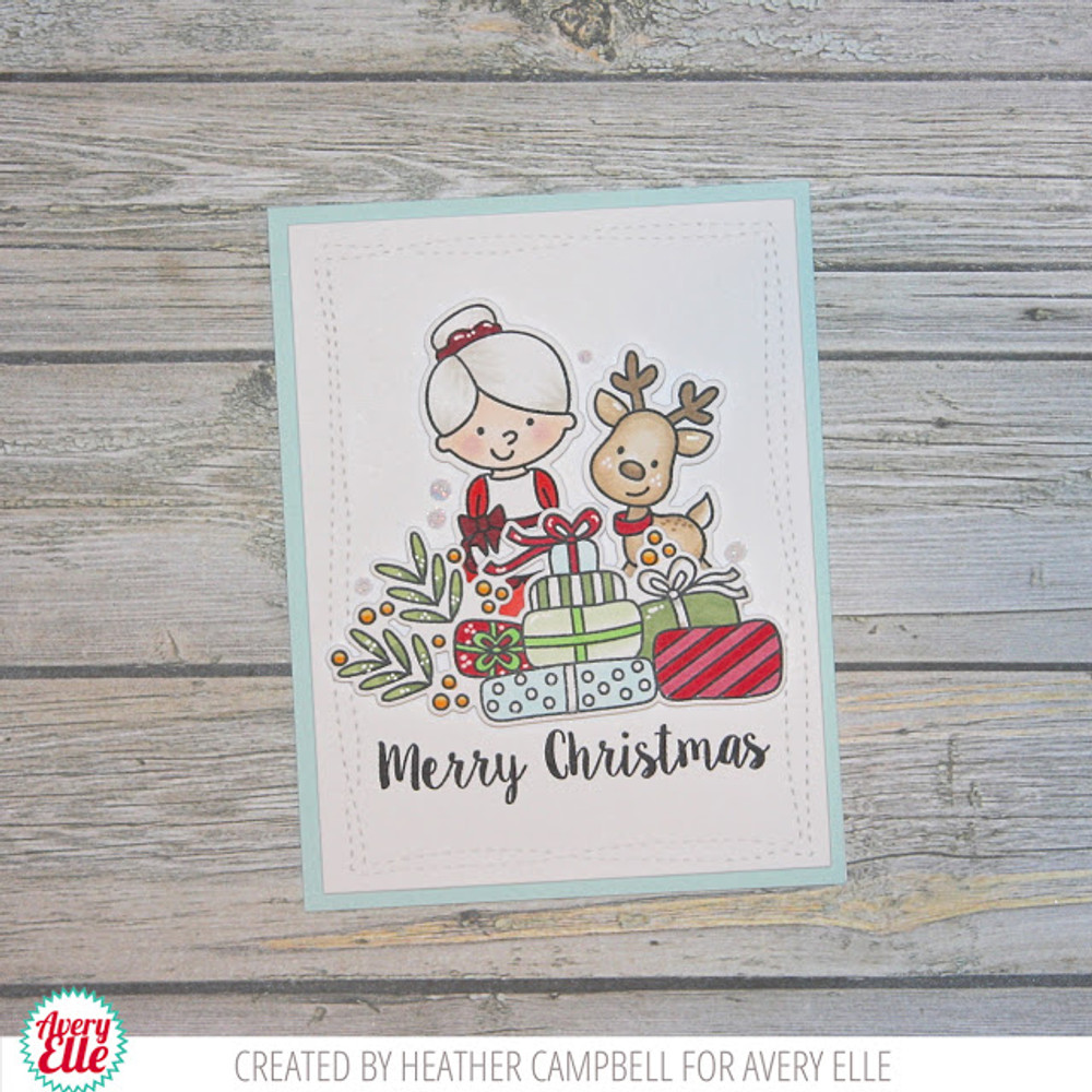 Christmas Packages Clear Stamps & Dies