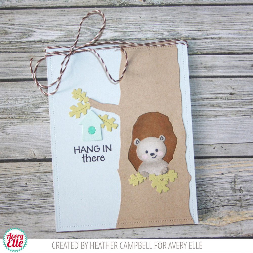 Hang In There Clear Stamps & Dies