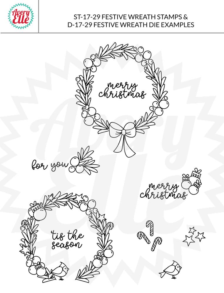 Festive Wreath Example