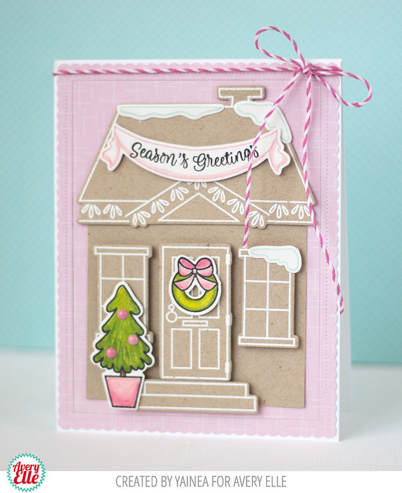 Welcome Home Seasons Clear Stamps & Dies