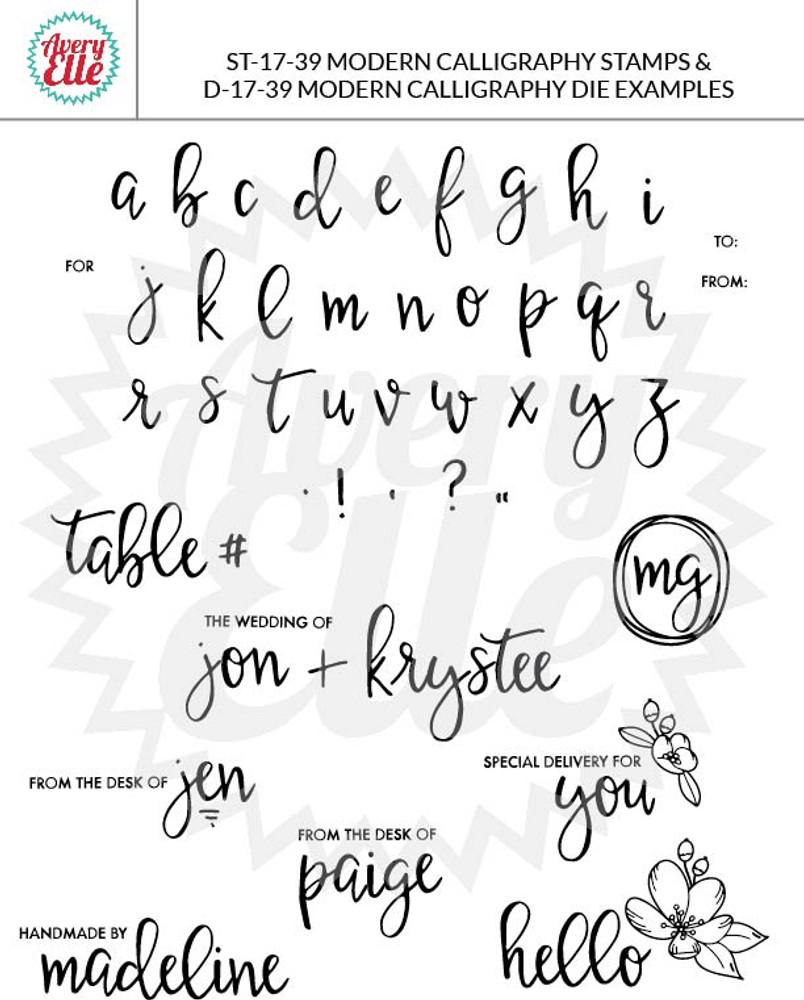 Modern Calligraphy Example