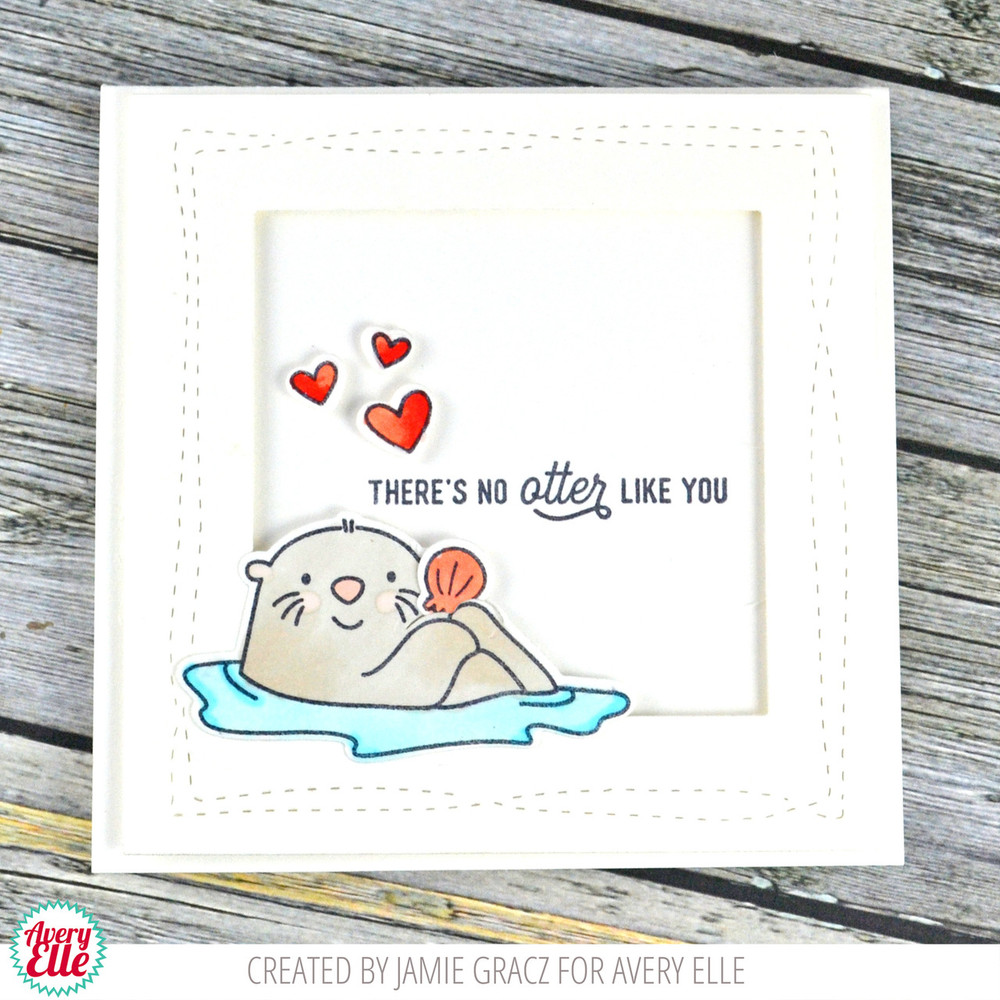 Otterly Fantastic Clear Stamps & Dies