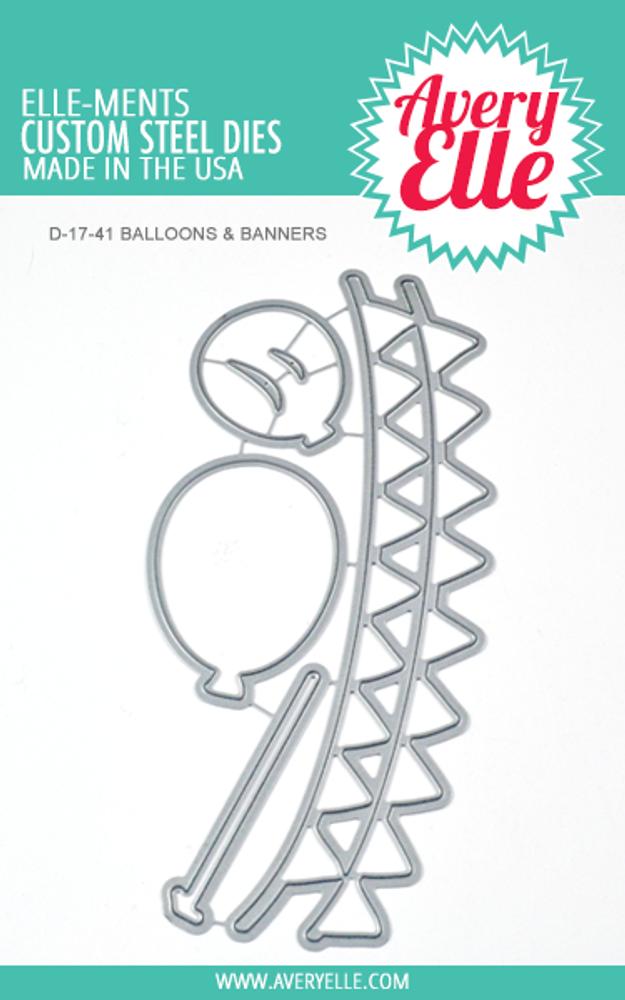 Avery Elle Balloons & Banners Dies