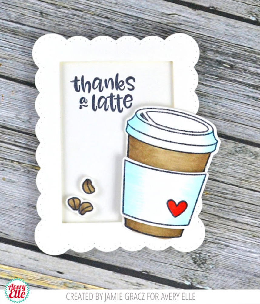 Cool Beans Clear Stamps & Dies