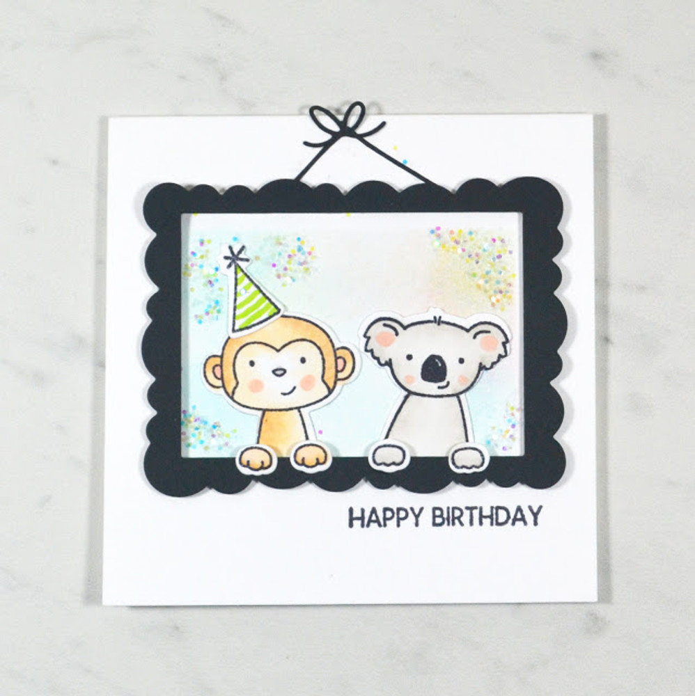 Peek-A-Boo Pals Clear Stamps & Dies