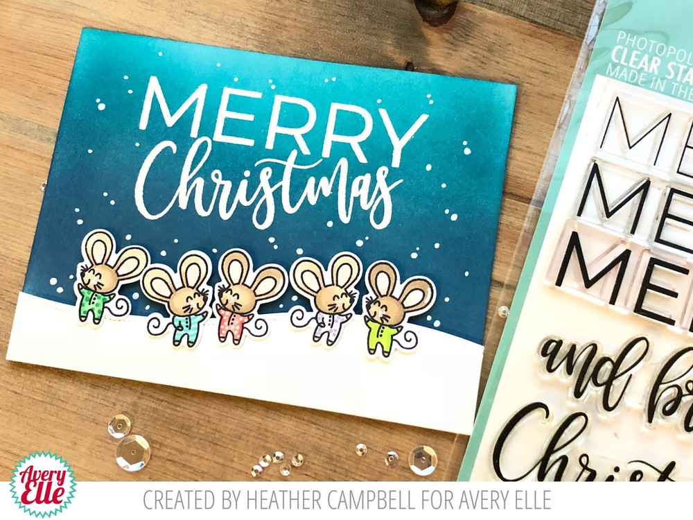 Merry Merry Clear Stamps