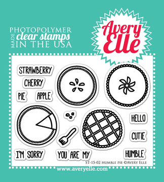 Clear Stamps - Humble Pie by Avery Elle