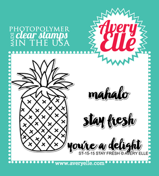 Clear Stamps - ST-15-15 Stay Fresh