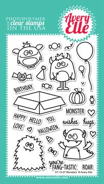 Monsters Stamp Set