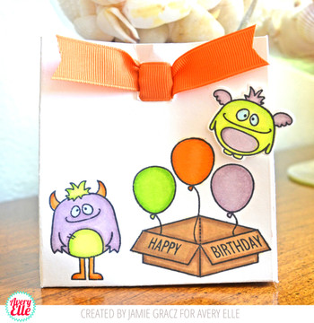 Monsters Clear Stamps