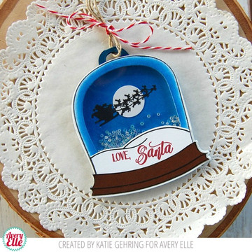 Snow Globe Clear Stamps