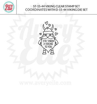 Viking clear stamps example