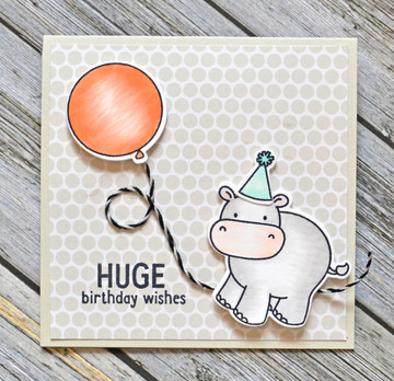 Wild Birthday Clear Stamps & Dies