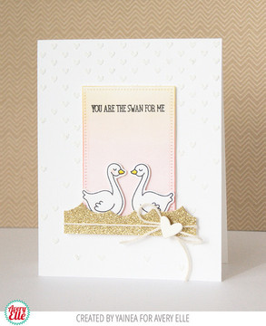 Swans Clear Stamps & Dies