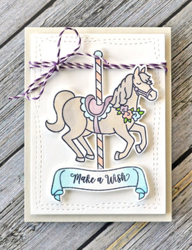 Carousel Clear Stamps & Dies