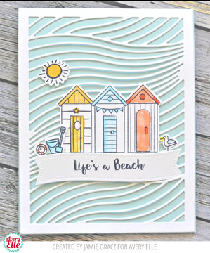 Beside The Sea Clear Stamps & Dies