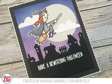 Bewitching Clear Stamps & Dies