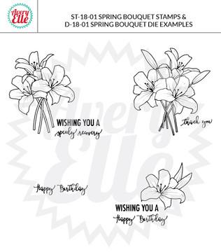 Spring Bouquet Dies Example