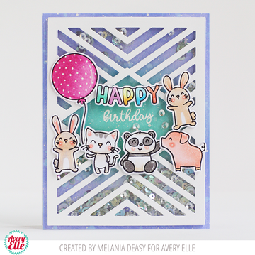 Party Pals Clear Stamps & Dies