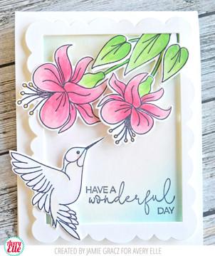 Hummingbird Clear Stamps & Dies