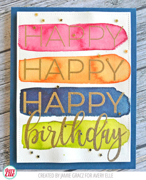 Big Birthday Clear Stamps